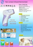 Wholesale HOLDJOY Clinical Infrared Baby Forehead Thermometer Approved Instant Read Sensor for Digital Fever Temporal Baby Adult Children Infrared