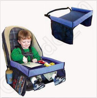 baby play tables - Baby Car Waterproof Safety Seat Snack Play N Travel Tray Kid Lap Board Table Pushchair Snack Tray CCA4968
