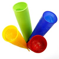 Cheap Free DHL Silicone Pop Yogurt Push Up Ice Cream ice Lolly Pop Maker Frozen Stick Jelly Popsicle Mould Mold DIY