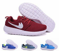 Wholesale 2016 Fashion Roshe Run Children s Athletic Shoes Boys And Girls Running Shoes Kids Casual Boots Babys Sneakers Sport Shoes Eur