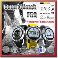 Wholesale New item F69 Waterproof Smart Watch Professional IP68 Swimming Mode Intelligent Healthy Heart Rate Bracelet for IOS Android Phone