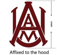 alabama door - Alabama A M Bulldogs car sticker Car reflective stickers