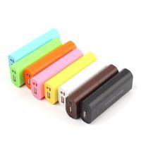 Wholesale 1PCS USB Powerbank Power Bank x Battery Charger Box Kit For Phone Cheap kit radio