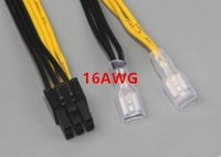 Wholesale High quality pin male pcie power cable for dell with awg CM lt
