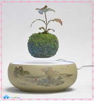 air plant sales - DHL free new artificial magnet bonsai air plant tree for sale magnetic floating air bonsai plant tree