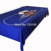 Wholesale WP Texas Holdem Poker Table Cloth Casino Layout Game Cloth PC
