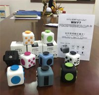 Wholesale Fidget Cube Toys Relieve Anxiety and Pressure Decompression Toys Christmas Gifts D720