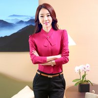 airline shirts - Airlines Stewardess Uniforms Professional Women s Shirt Suit Work Wear Female Long sleeve Slim Suits Shirt with Trousers