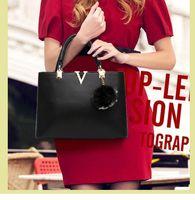 Wholesale 2016 hot selling contracted fashion PU European and American lady handbag handbag simple tide shoulder bag