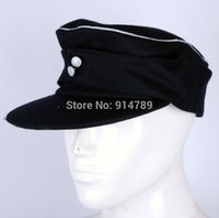 ball officer - WWII GERMAN WH ELITE OFFICER PANZER WOOL FIELD CAP SIZE XL