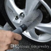 Wholesale Automotive steel rim brush wheel brush automobile tires wash tools products Clean the flat tire brush
