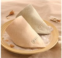 Wholesale Organic cotton Children triangle bibs infant Saliva Bibs Baby Bandana Scarf Bibs