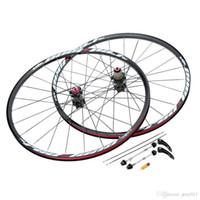 Wholesale New H Disc Brake Bike Wheel MTB Mountain Bicycle Bike Wheelset Hubs Rim Front Rear Set Lightweight Bicycle Wheel