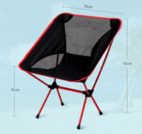 Wholesale hiking Folding chairs Portable Folding Camping Stool Chair Max load bearing kg silla plegable Beach chairs
