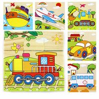 Wholesale Styles D Kids Wooden Puzzles Set Animal Pattern Cartoon Puzzle Colorful Educational Wood Kid Toy Children Gift