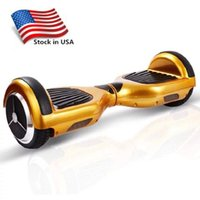 Wholesale 2016 Stock in USA Self Balancing Wheel Smart Electrics Balance Scooters Smart Hoverboard Skateboard Adult inch Two Wheel Drop Shipping