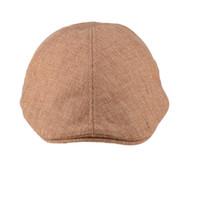 Wholesale Men s Classic Flax Cap Newsboy Ivy Hat Golf Driving Sun Flat Cabbie Hats Visor Beret Hat