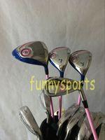 Wholesale 12PCS Women Complete Set Golf Clubs XXIO9 MP900 Driver XXIO MP900 Fairway woods XXIO9 MP900 Irons PAS Come headcover