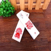 Wholesale style Chinese wind bookmarks creative gift box paper book mark classic Chinese does art into the wind