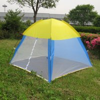 Wholesale new outdoor summer camping tent person Beach tent fishing tent sun shelter cm