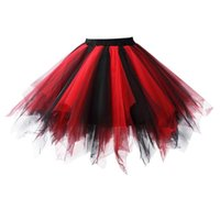 Wholesale Womens Mini Ballet Multi layer Ruffle Frilly Petticoat Bubble Tutu Costume Skirt