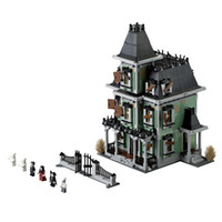 Wholesale Modular Building Blocks Lepin Building Toys Haunted House