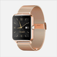 Wholesale 2016 Newest fashion Bluetooth Smart Watch Z50 with heart rate SIM card TF mp3 mp4 compatible with Android Phones
