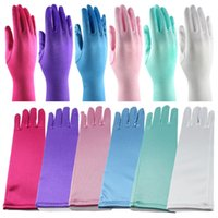 Wholesale Kids Elsa Gloves Fancy Gloves Elsa Costume Halloween Gloves for Kids Frozen Gloves Cartoon Party Costume Accessories Colors hot