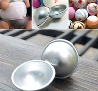 accessories spheres - SPA Accessory DIY Tool Bath Bomb Mold ball makers Aluminum Ball Sphere Bath Salt Mold