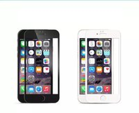 Wholesale Top quality For iphone s quot D explosion proof membrane tempered glass screen protector steel film
