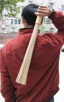 bamboo massage therapy - Gifts bamboo Shot fever stick Thin rods Meridians Pat rods Massage shot sandbars all natural Bamboo Fitness bar
