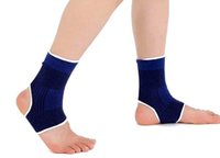 Wholesale H Elastic Knitted Ankle Support Protects Brace Band Sports Gym Protects Therapy basketball football shoes ankle protector