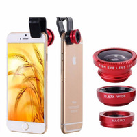 Cheap Phones Accessories Leather Mobile Phone Bags & Cases Fisheye Lens Coque for Iphone Samsung Galaxy Note 5 4 Camera Fish Eye Cover
