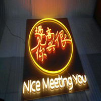 Wholesale DIP New Custom non glass energy saving LED Neon Sign Flexiable Rope Light Tube Light