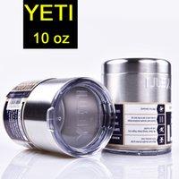 Wholesale Yeti oz Rambler Tumbler Stainless Steel Cup Insulation Cup Bilayer Stainless Steel Tumbler Mug DHL Free oth242