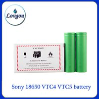e-cig mods - Sony VTC4 VTC5 battery for e cigarette mod e cig V mAh mAh vs Trustfire best fire battery