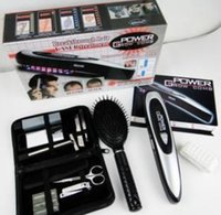 Wholesale by dhl or ems pieces Laser Treatment Hair Loss Stop Regrow for Power Comb Kit