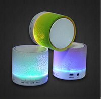 Wholesale Hot Selling Subwoofer Stereo HiFi Player Sound Speaker LED Bluetooth Speakers Wireless Portable Speaker for Phone MP3 HiFi MIC TF Card