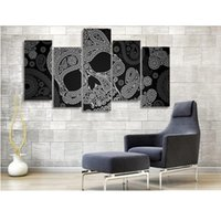 animal skeleton pictures - Canvas Printings Skeleton Line Pattern Painting Wall Art Home Decoration Canvas Unframed