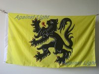 belgian flag - Flanders Lion Flag x cm Polyester Belgium Belgian Flemish Lion Banner