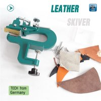 Wholesale ER809G Leather splitter leather paring device kit max mm width leather skiver vegetable tanned leather peeler