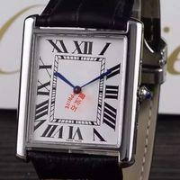 Wholesale b lovers Tank Lovers Swis Quartz Sapphire Watches Luxury Watch Brand Leather Stone Wrist Hours Men Lady relogio feminino reloj mujer AAA