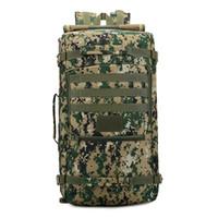 acu packs - Big Capacity Outdoor Climbing Bag Unisex Shoulder Backpack Camouflage ACU Bags For Men Women Camping Hiking Shoulder Packs