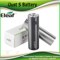 battery protection system - Authentic iSmoka Eleaf iJust S Battery mah original Direct Output Voltage System Dual Circuit Protection genuine DHL Free