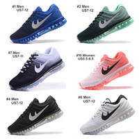 Wholesale New Style Max Running Shoes For Men Women High Quality Air Cushion Surface Breathable Max Shoes Eur With Box