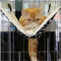 Wholesale NEW Animal Cat Kitten Hanging Ferret Cat Hanging Hammock Hang On Design Bed Cage Pad All E5M1