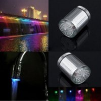 abs suppliers - LED Water Faucet Stream Light Colors Shower Tap Head Bathroom Faucet accessories Suppliers LED Water Faucet Str