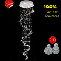Wholesale Indoor Lighting Chandeliers New LED Modern K9 Crystal Chandeliers Crystal Lamp Guarantee lustres de cristal chandeliers criostail