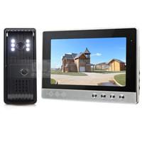 Wholesale 10 inch Video Door Phone Intercom Doorbell TV Line LED Night Vision Camera Home Security System