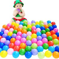Wholesale 100Pcs Colorful Ball Ocean Balls Soft Plastic Ocean Ball Baby Kid Swim Pit Toy cm
